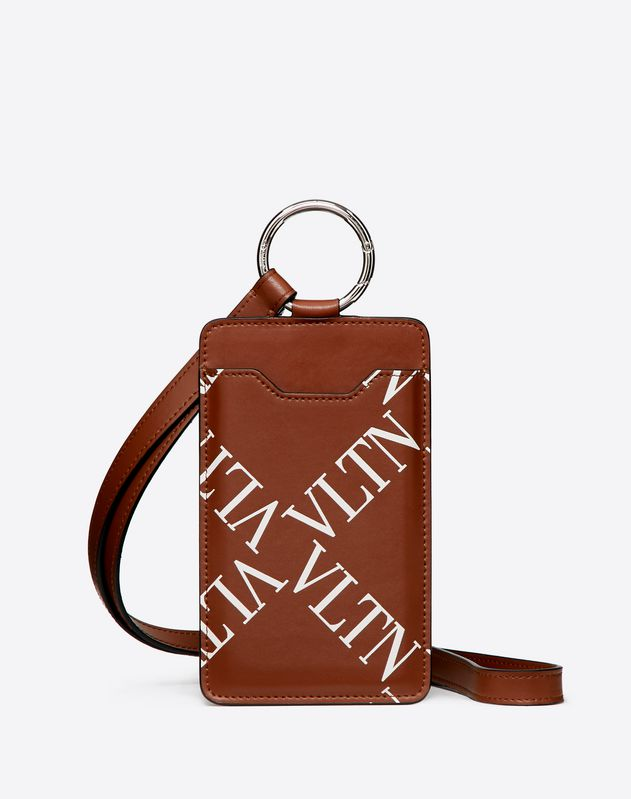 VLTN Grid Phone Case With Neck Strap