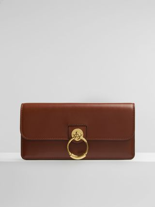Tess long wallet with flap