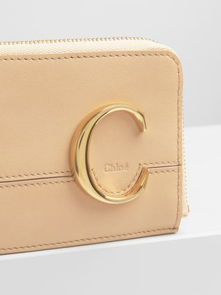 Porte-monnaie Chloé avec fentes pour cartes