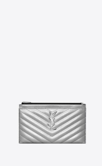 Monogram bill pouch in grain de poudre embossed leather ... dc186127f3
