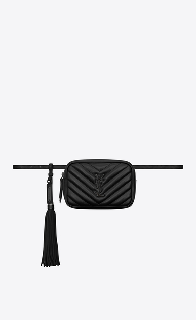 LOU Belt bag in matelassé leather