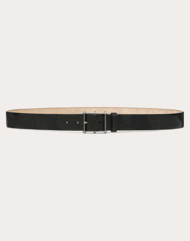 Camouflage Noir Belt