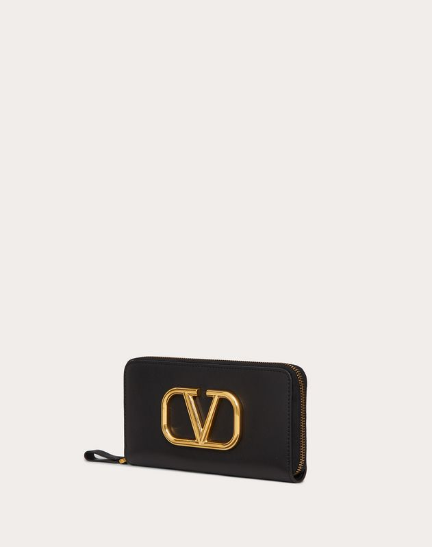 Go Logo Zippered Wallet