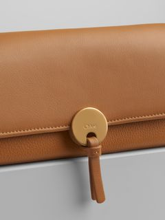 Indy long wallet with flap