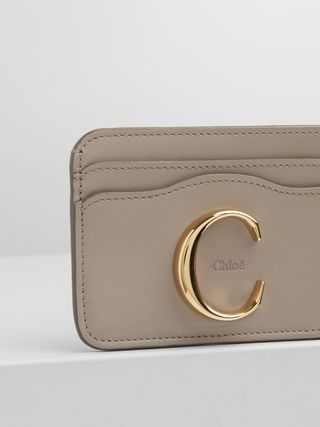 Chloé C card holder