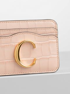 Chloé C card holder