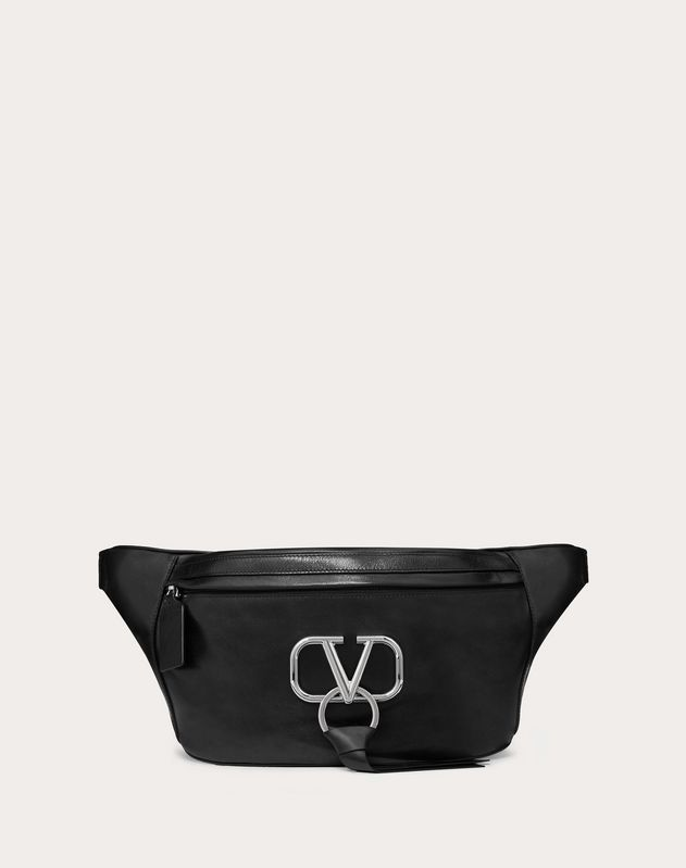 VRING SMOOTH CALFSKIN BELT BAG