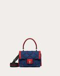 Candystud Mini Denim Handbag