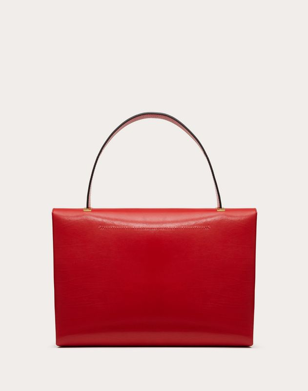 VCHAIN Smooth Calfskin Handbag