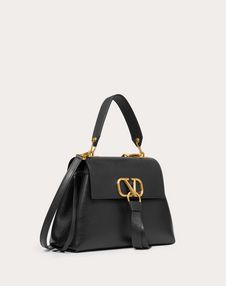 Small VRING Buffalo Leather Handbag