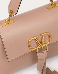 Small VRING Buffalo Leather Handbag