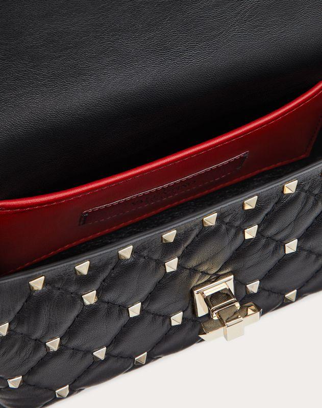 Поясная сумка Rockstud Spike из кожи наппа
