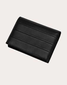 Маленький бумажник Diary Lines из телячьей кожи