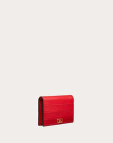Small Diary Lines Calfskin Wallet
