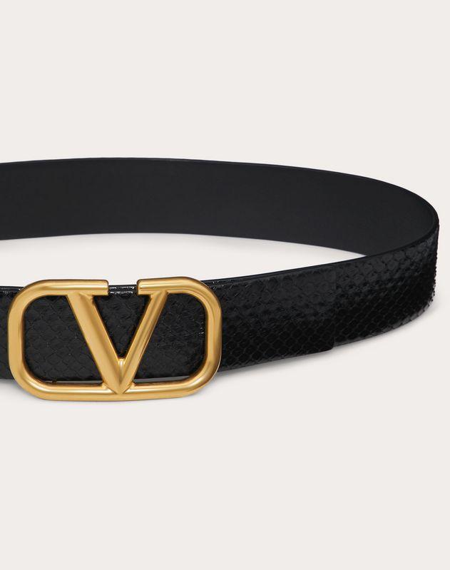 VLOGO Semi-Matt Python Belt