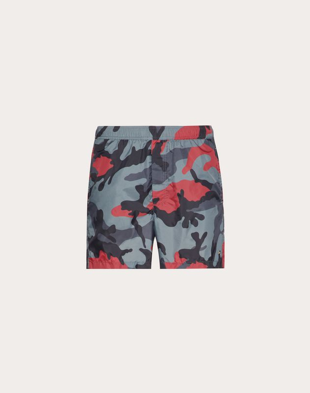 CAMOUFLAGE PRINT SWIMMING COSTUME