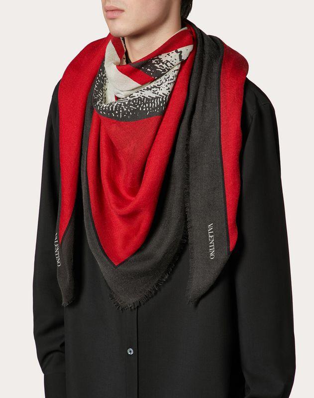 Valentino Undercover shawl