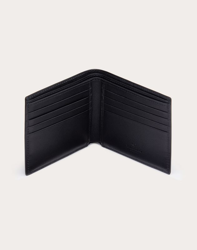 Leather VLOGO wallet