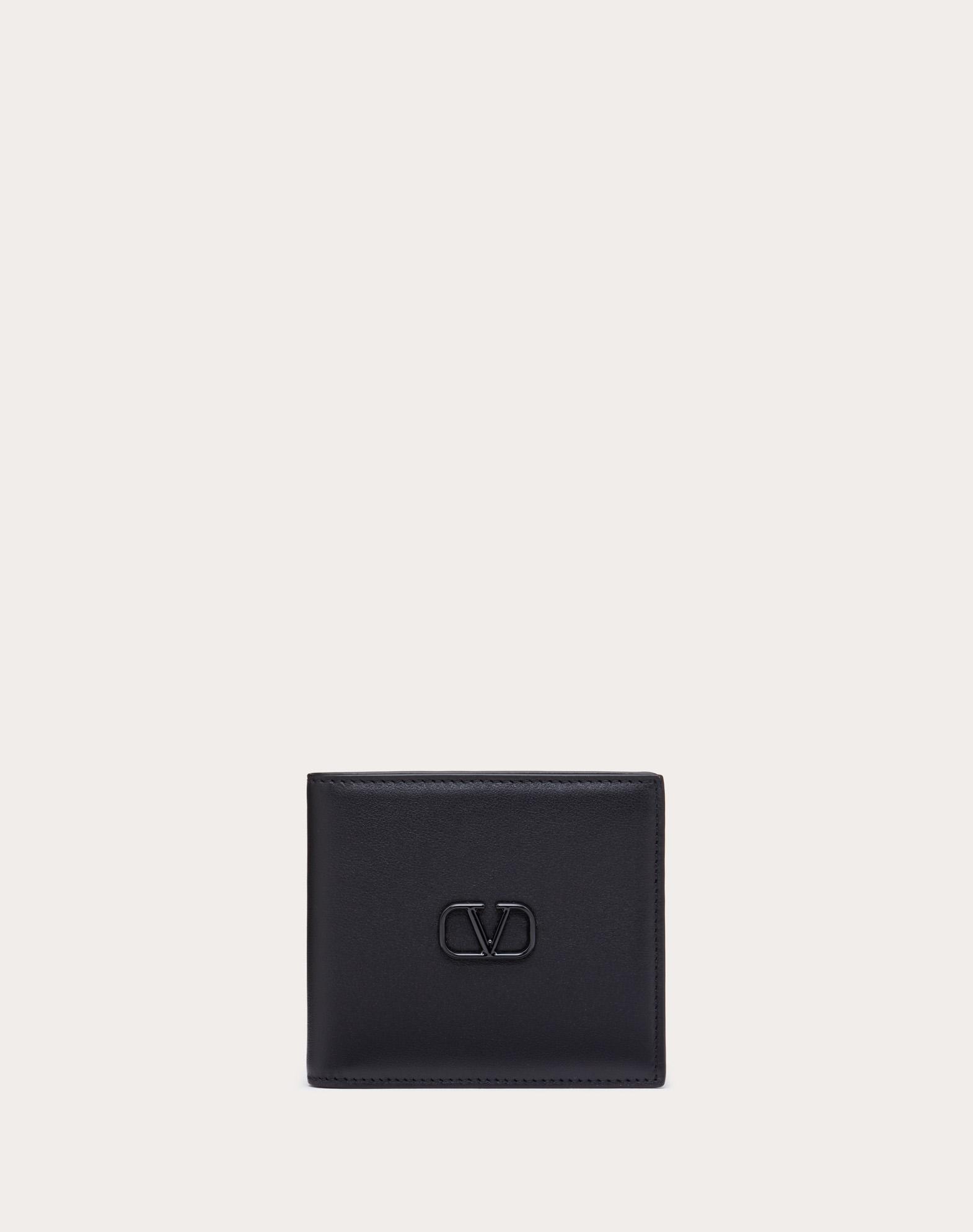 Leather VLOGO wallet
