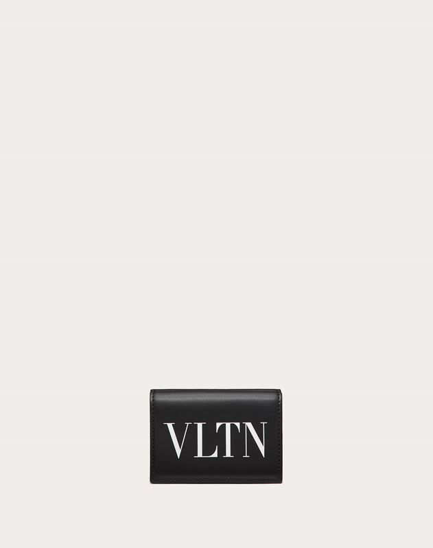 Leather VLTN wallet