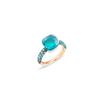 POMELLATO Ring Nudo Deep Blue A.B904 E f