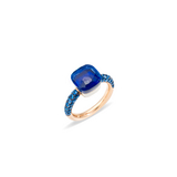 POMELLATO A.B904 E Bague Nudo Deep Blue f