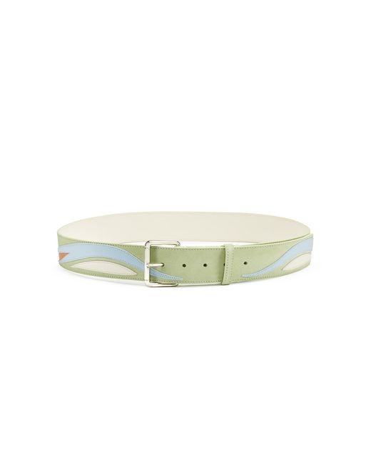PARROT LEATHER BELT - Lanvin