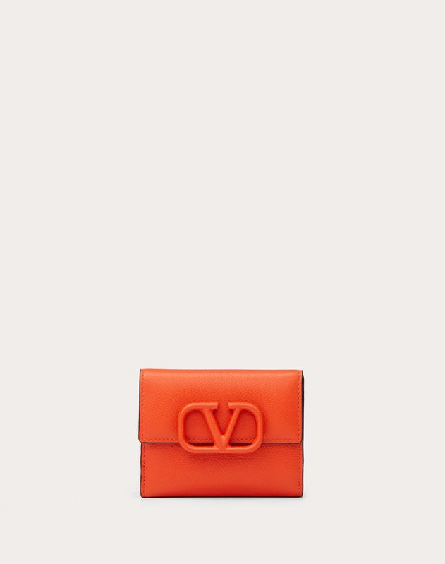 VSLING GRAINY CALFSKIN PURSE