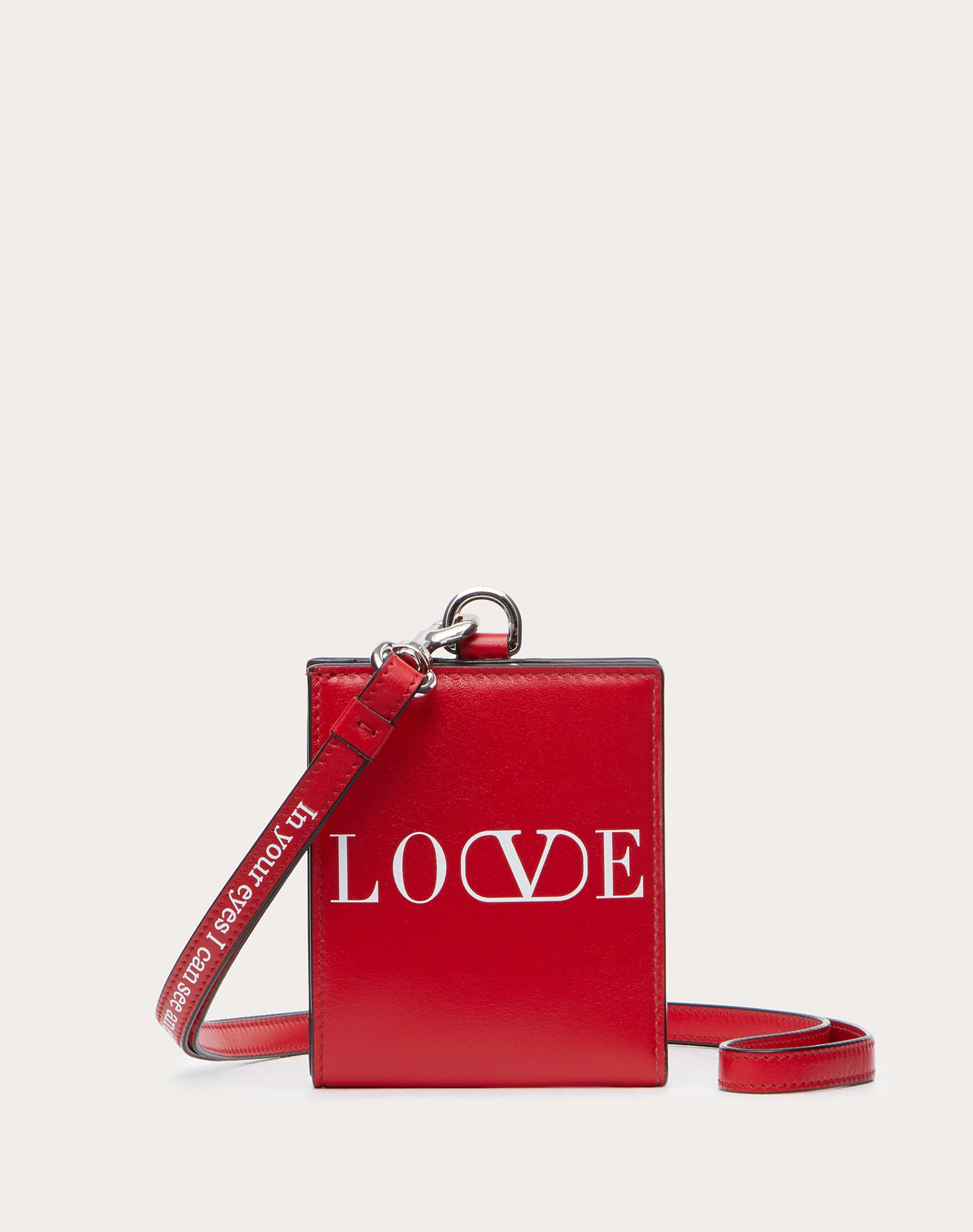LOVE Wallet with Neck Strap