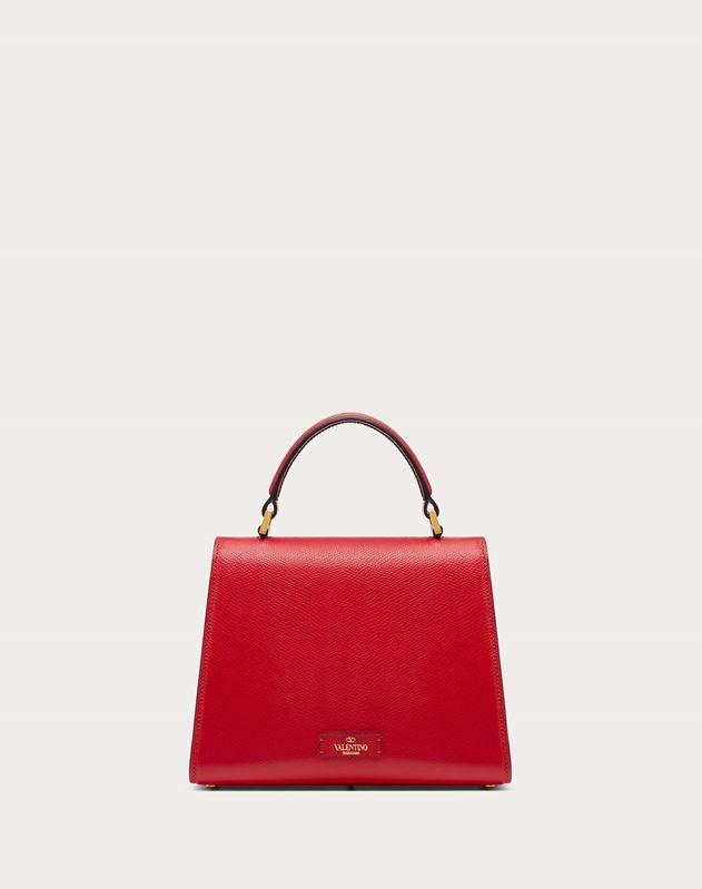 Small VSLING Grainy Calfskin Handbag