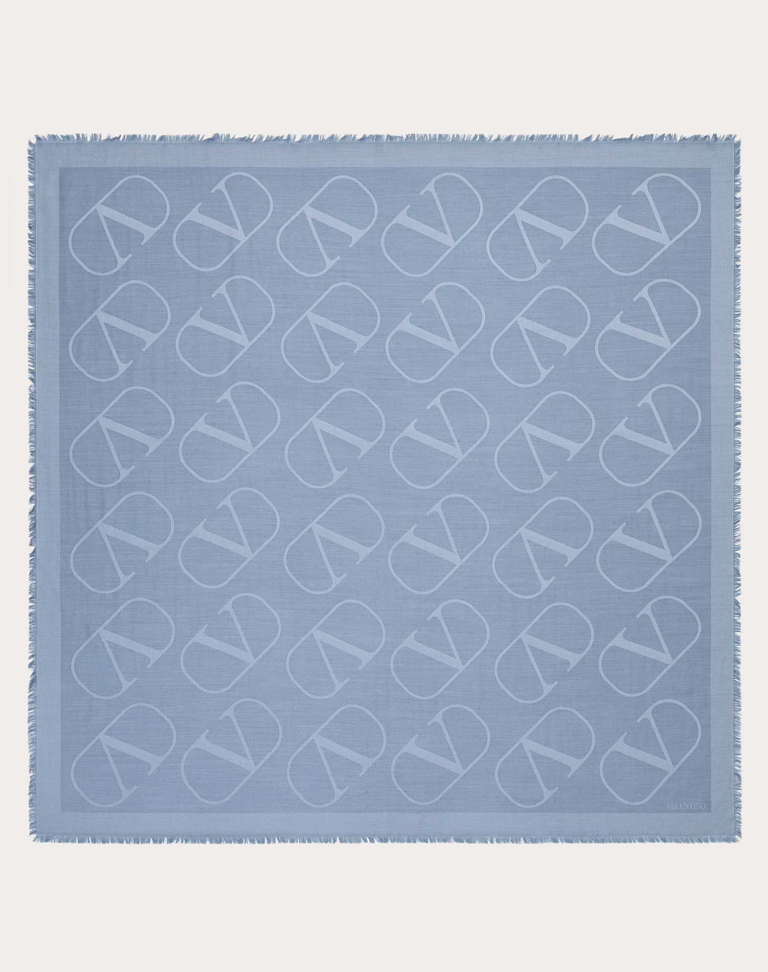 Tuch VLOGO aus Seide/Wolle, 140 x 140 cm