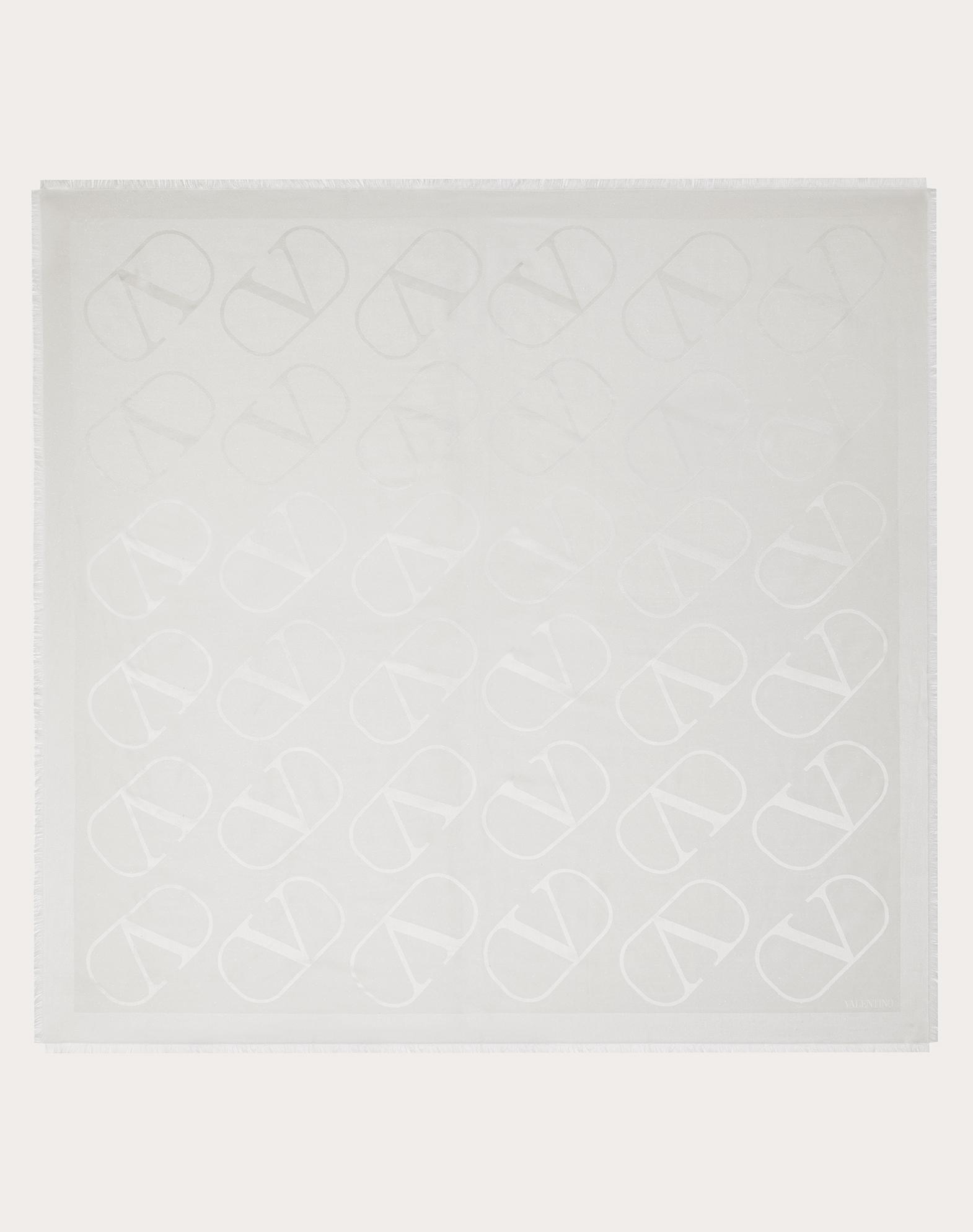 VLOGO shawl with lurex 140x140 cm / 55.1x55.1 in.