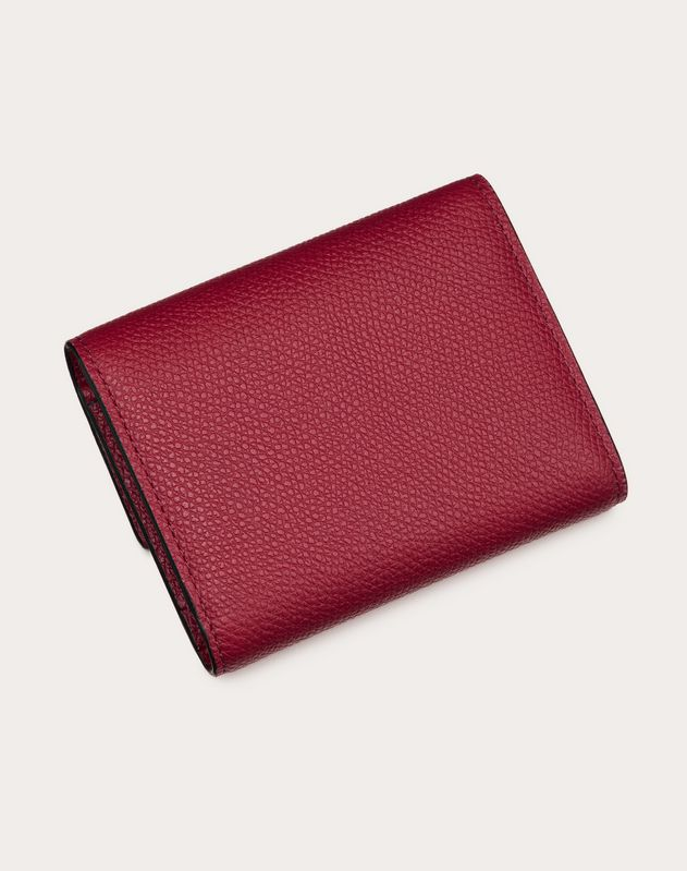 SMALL VSLING GRAINY CALFSKIN WALLET