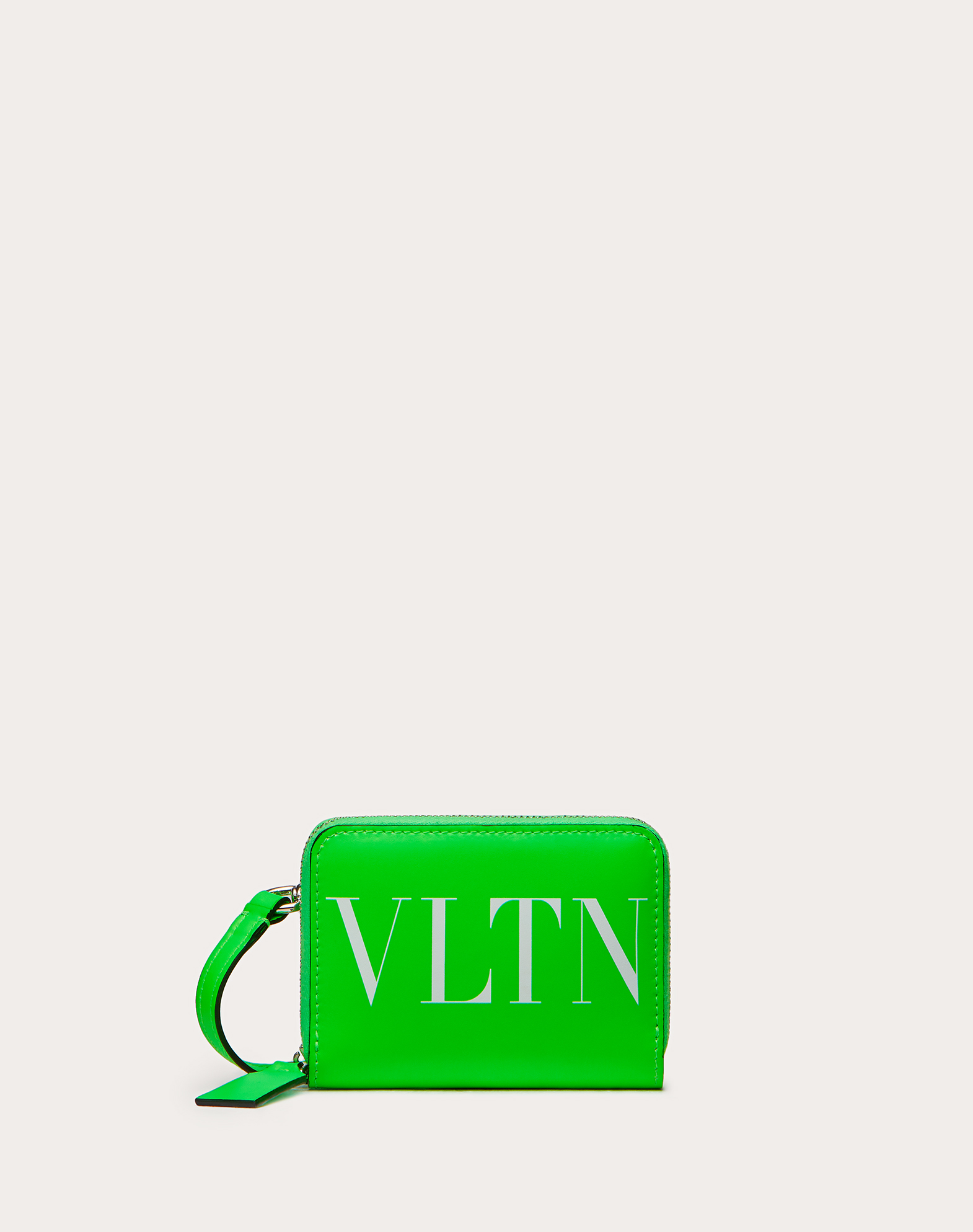 VLTN Neon Wallet with Neck Strap
