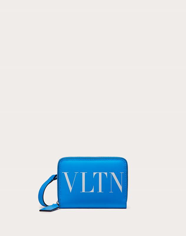 VLTN Neon Wallet with Neck Strap