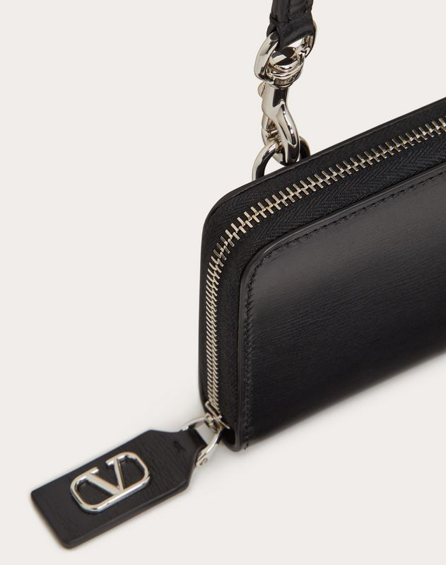 VLOGO Wallet with Neck Strap