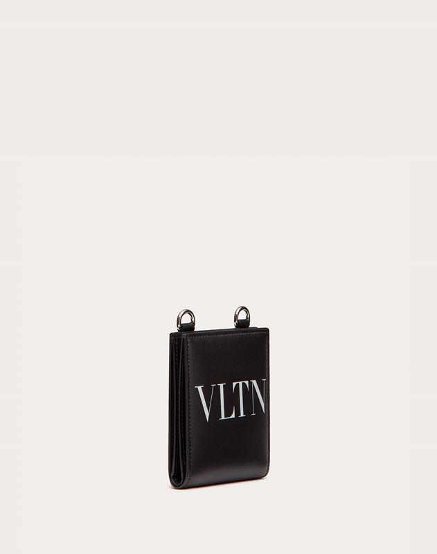 VLTN Wallet with Neck Strap