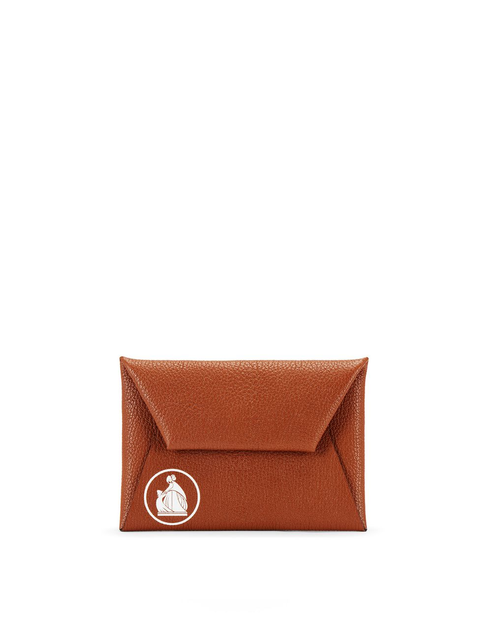 EARTH-COLORED ENVELOPE CLUTCH - Lanvin