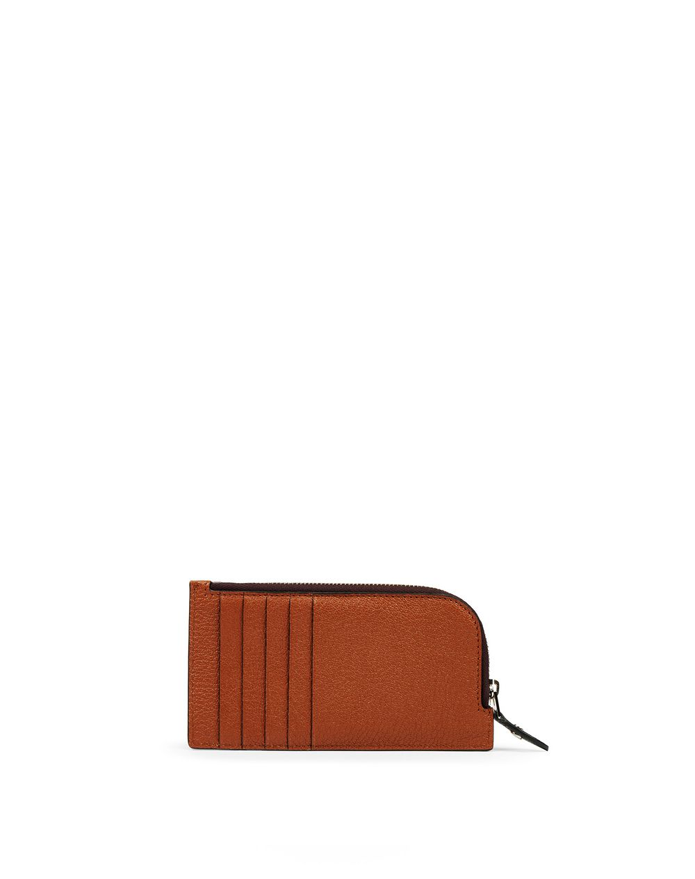 EARTH-COLOURED ZIPPED CLUTCH - Lanvin