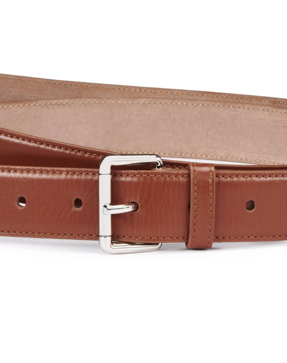 RECTANGULAR BUCKLE BELT - Lanvin