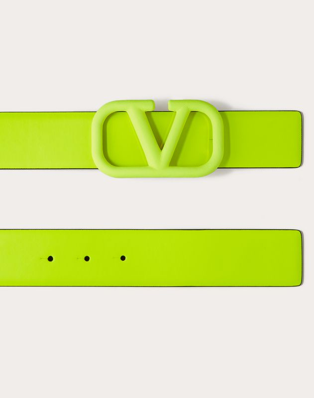VLOGO NEON CALFSKIN BELT 40 MM