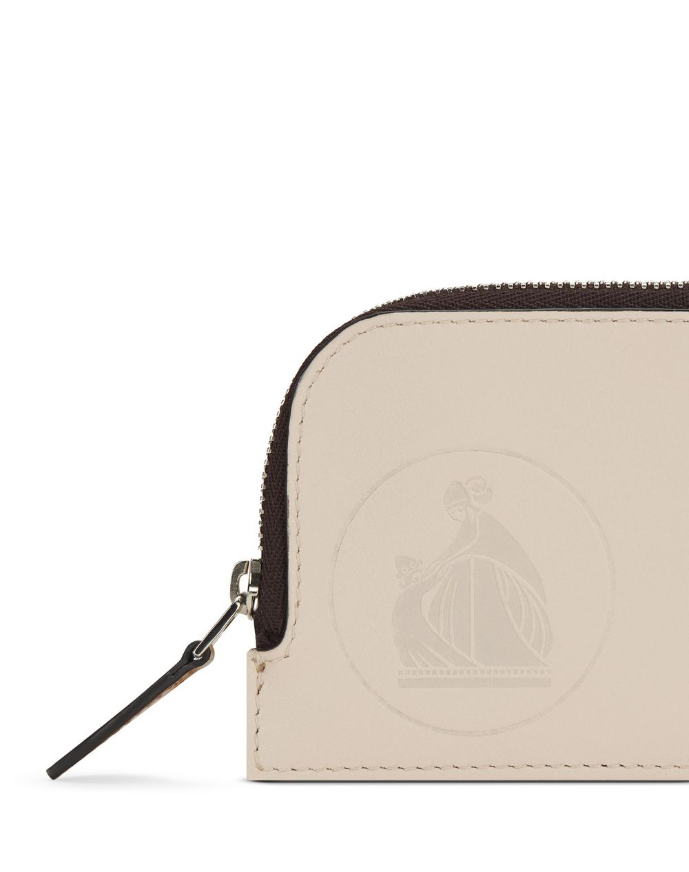 ASYMMETRICAL ZIPPED CARD HOLDER - Lanvin