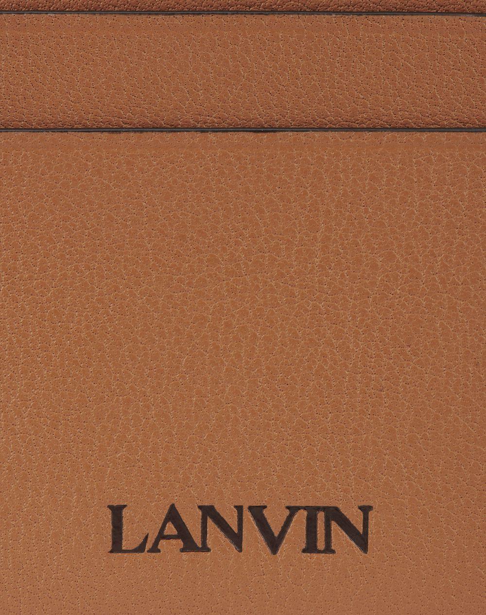 CARD HOLDER IN CALFSKIN LEATHER - Lanvin