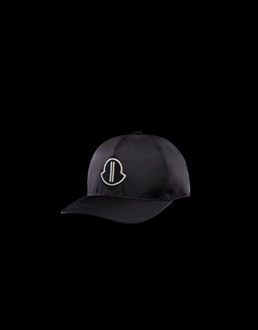 BASEBALL HAT Black Moncler Rick Owens Woman