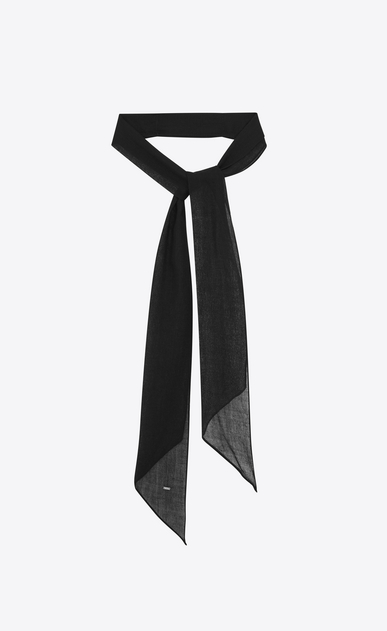Neck tie in wool challis
