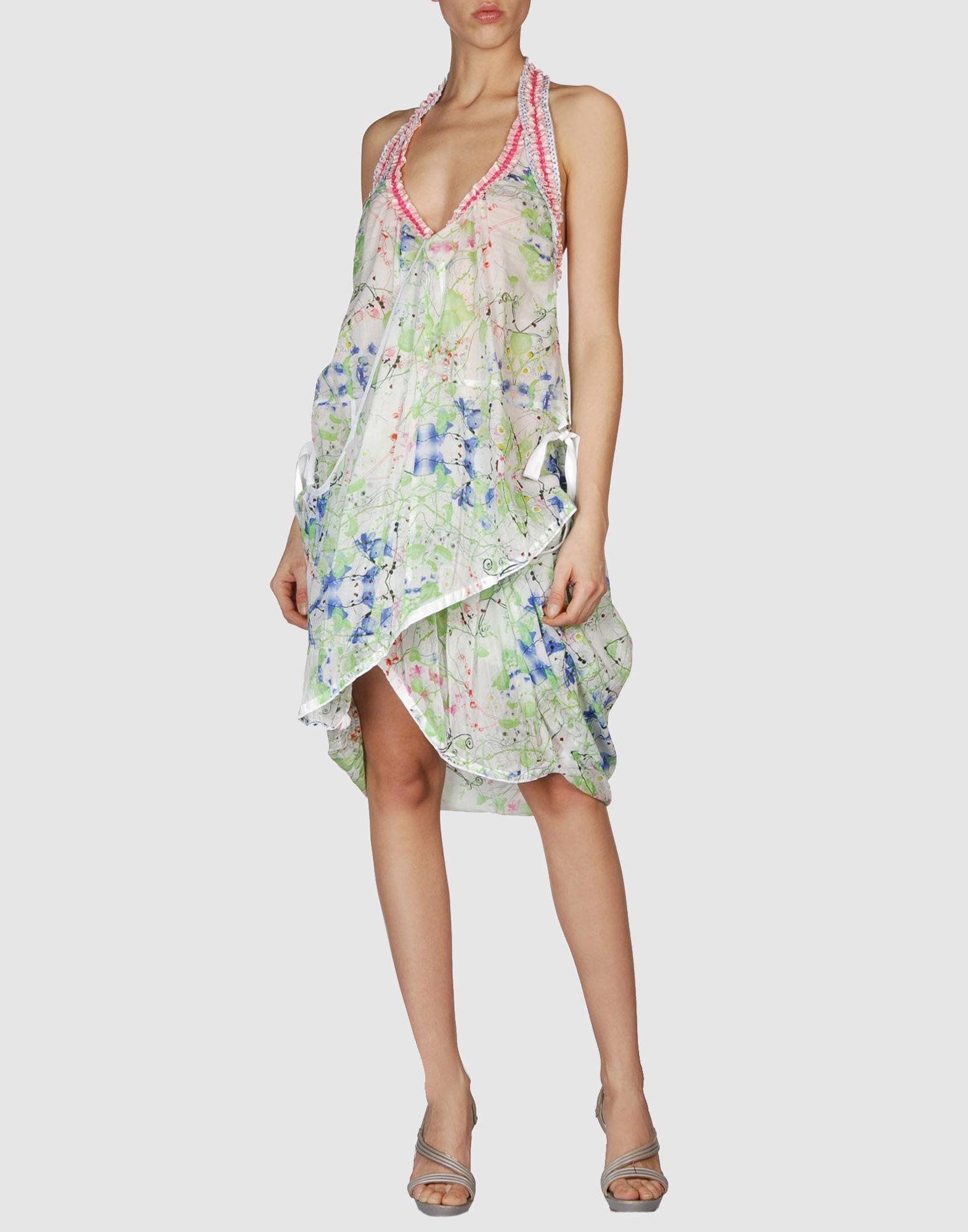 HIGH Короткое платье lisa corti короткое платье