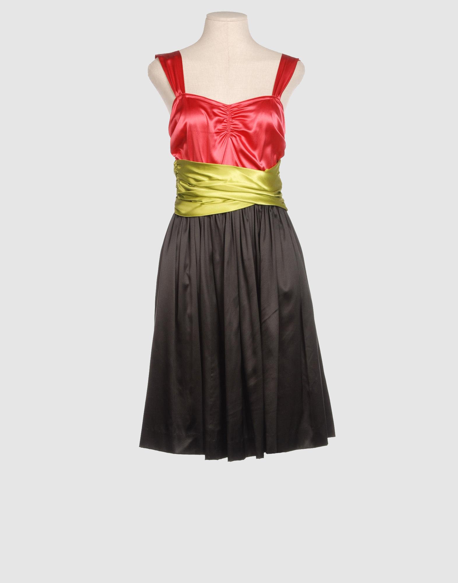 DKNY Платье длиной 3/4 dataline 4 кармана