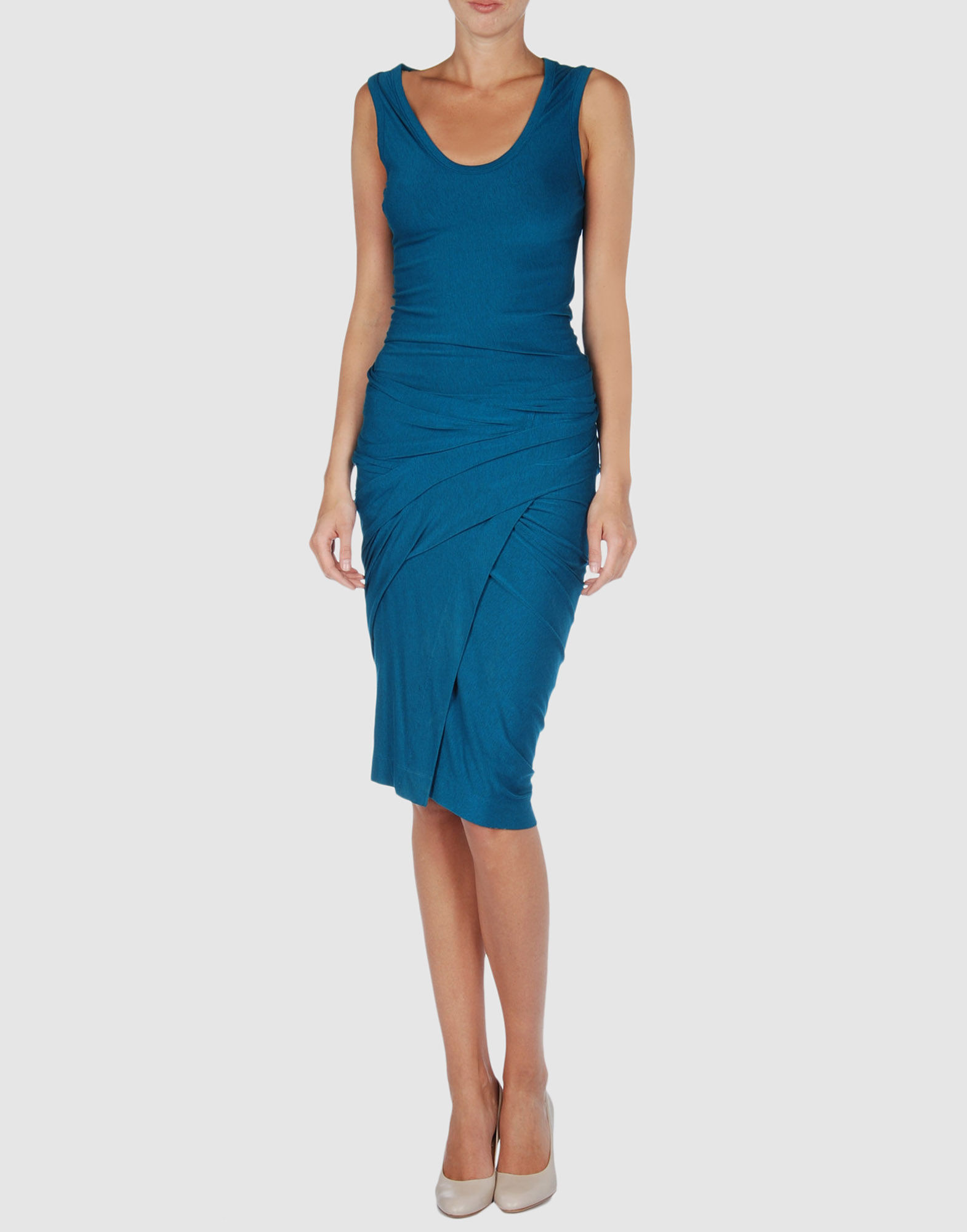 DONNA KARAN Платье длиной 3/4 цена 2017