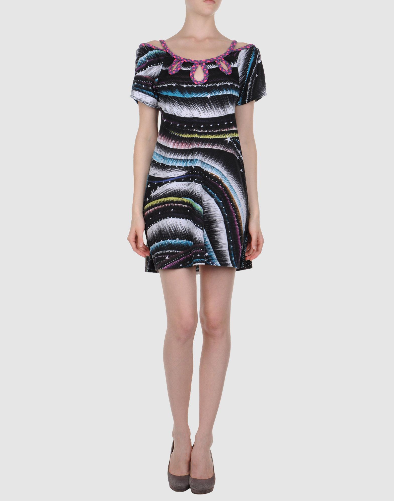 CUSTOLINE Короткое платье цена 2017
