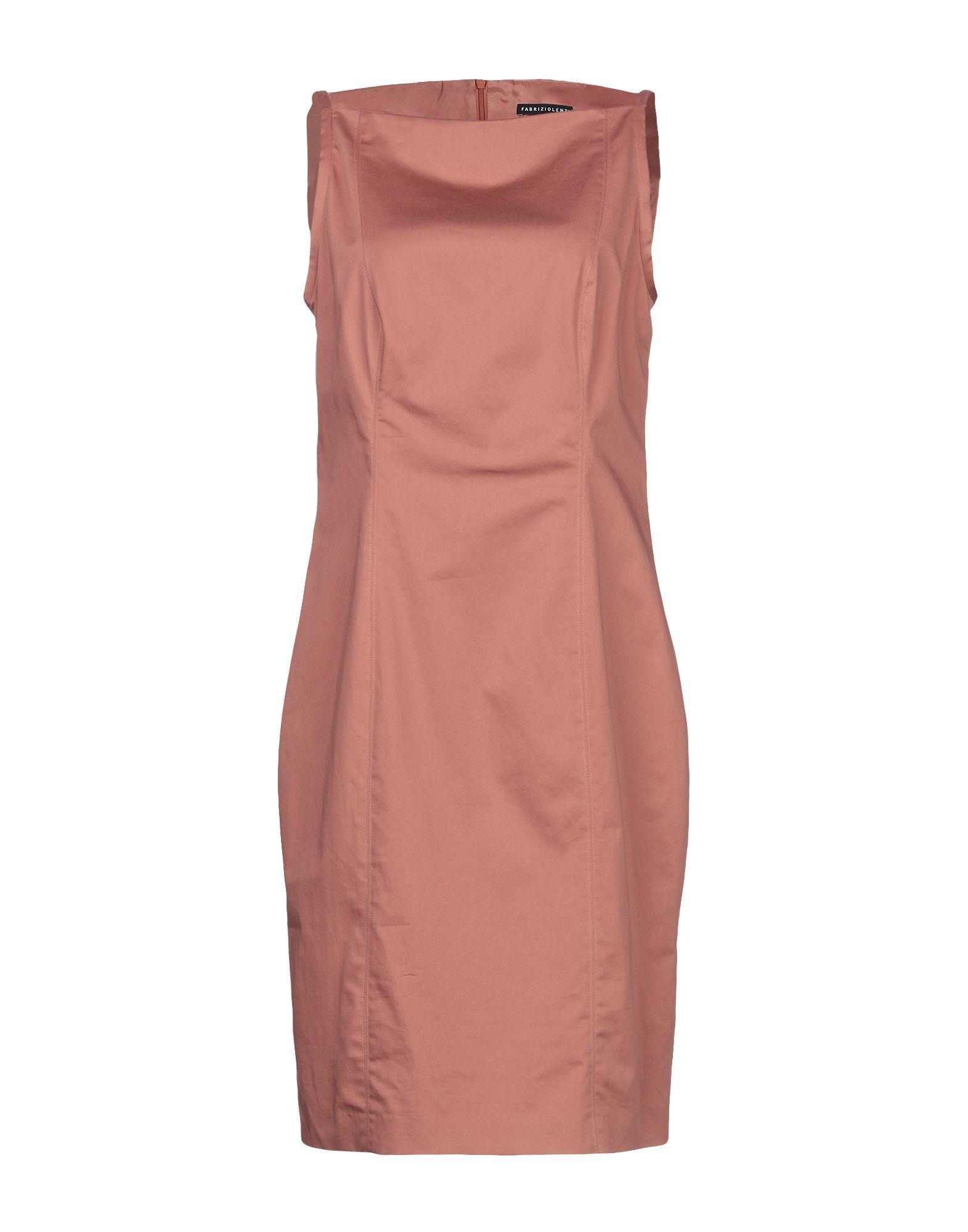 FABRIZIO LENZI Короткое платье недорго, оригинальная цена